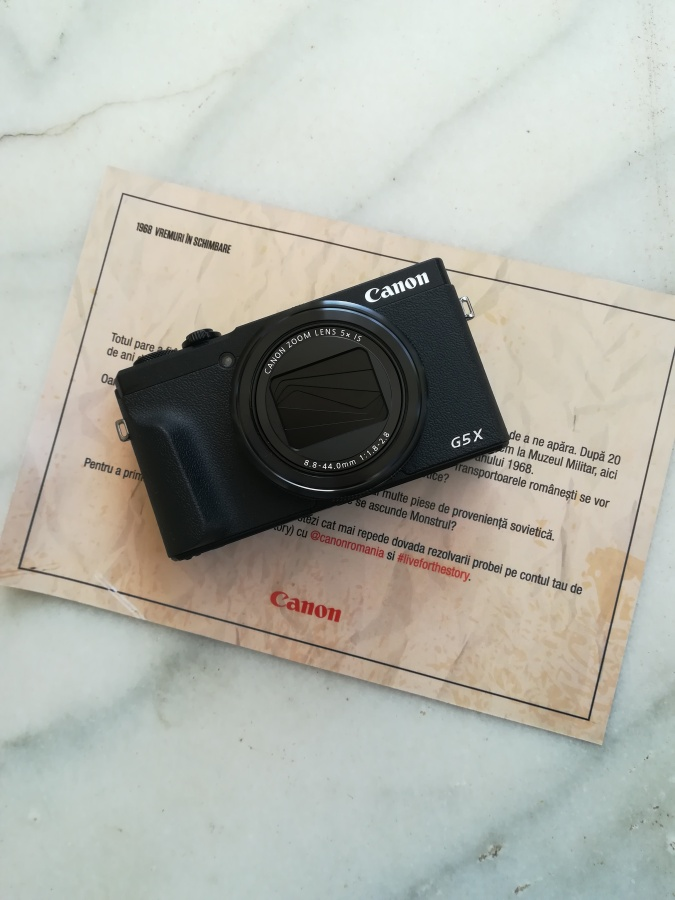 Review Canon G5X Mk II – La pas prinBucurești